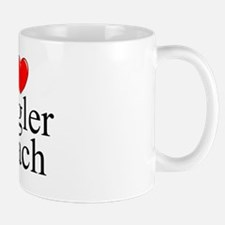 """""""I Love Flagler Beach"""" Mug"""