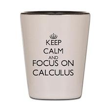 Keep calm and Shot Glass