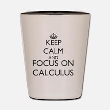 Cute Calculus Shot Glass