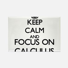 Keep calm and focus on Calculus Magnets