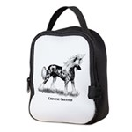 Chinese Crested Neoprene Lunch Bag
