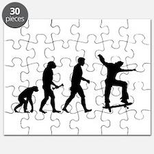 Skateboarder Evolution Puzzle