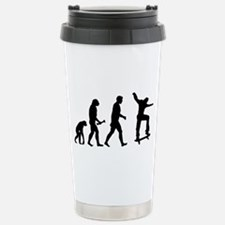 Skateboarder Evolution Travel Mug
