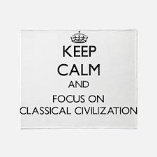 Cute Classical Throw Blanket