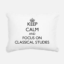 Unique Class Rectangular Canvas Pillow