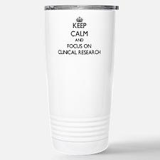 Funny Research Travel Mug