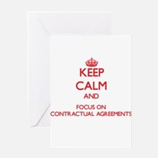 Keep Calm and focus on Contractual Agreements Gree