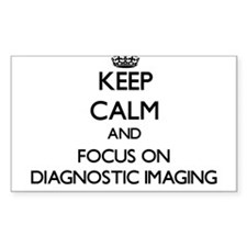 Keep calm and focus on Diagnostic Imaging Decal