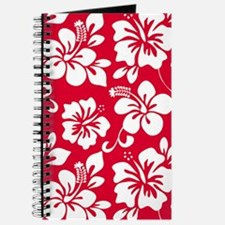 Red Hawaiian Hibiscus Journal