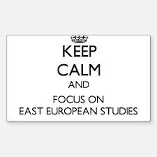 Keep calm and focus on East European Studies Stick