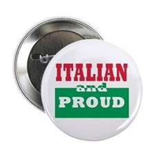 "Proud Italian 2.25"" Button (10 pack)"