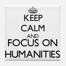 Cute Humanities Tile Coaster