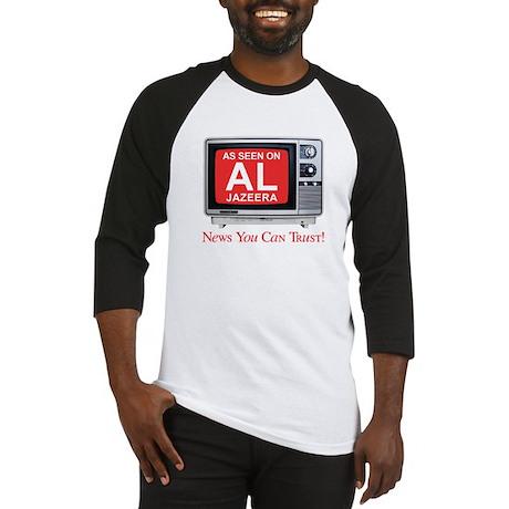 College Humor shirts Al Jazeera Baseball Jersey