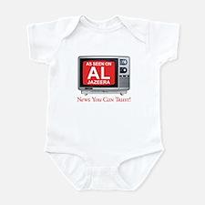 College Humor shirts Al Jazeera Infant Bodysuit