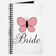 Pink Black Bride Butterfly Journal