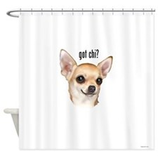 Got Chi? (fawn) Shower Curtain