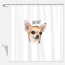 Got Chi? (fawn) Shower Curtain