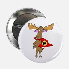 "Superhero Moose 2.25"" Button (100 pack)"