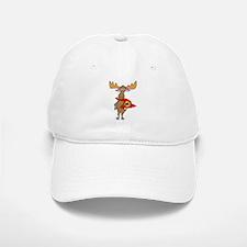 Superhero Moose Baseball Baseball Cap
