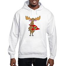 Superhero Moose Hoodie