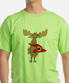 Superhero Moose T-Shirt