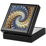 Fractal Square Keepsake Boxes