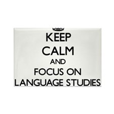 Keep calm and focus on Language Studies Magnets