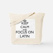 Unique I love latin Tote Bag