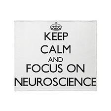 Unique Neuroscience Throw Blanket