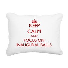Cute Inaugural ball Rectangular Canvas Pillow