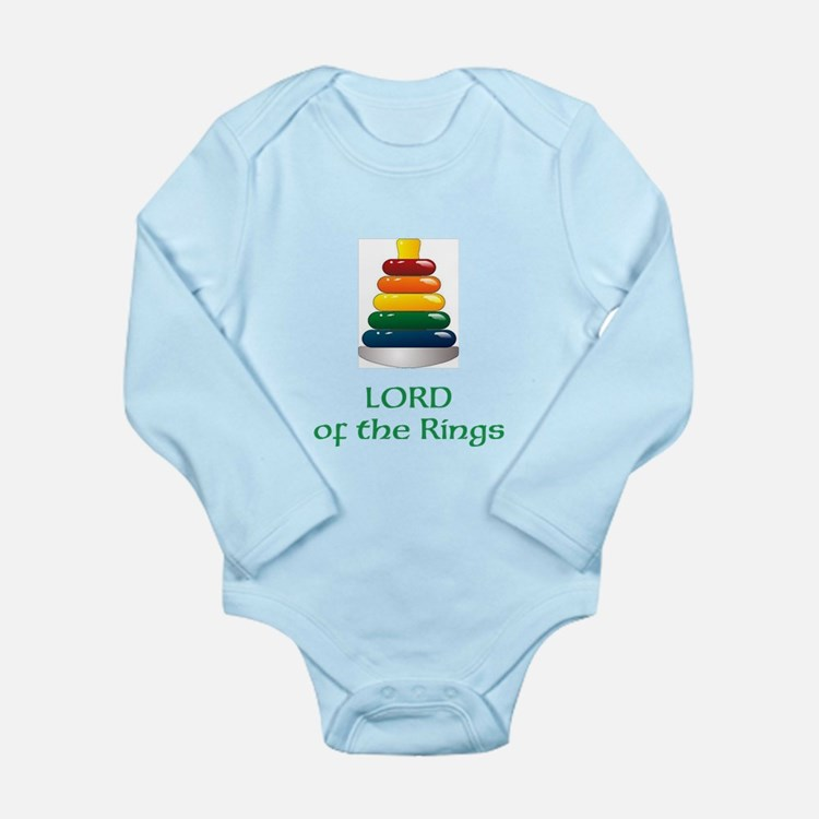 Lord Of The Stacking Rings -Infant Body Suit