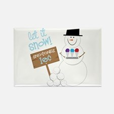 Let It Snow! Magnets