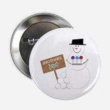 "Sno-Cones Snowman 2.25"" Button"