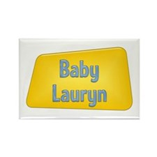 Baby Lauryn Rectangle Magnet