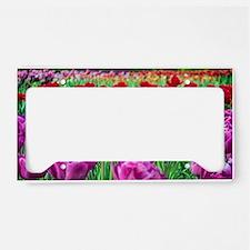 Tulip Field License Plate Holder