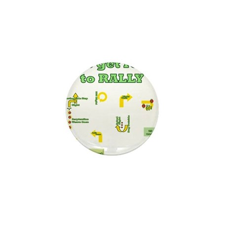 Get Ready Rally Mini Button (10 pack)