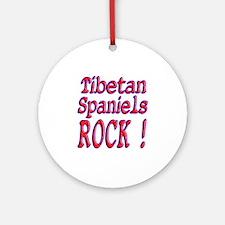 Tibetan Spaniels Ornament (Round)