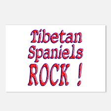 Tibetan Spaniels Postcards (Package of 8)