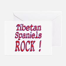 Tibetan Spaniels Greeting Cards (Pk of 10)