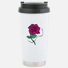 Rose By Any Other Name Travel Mug