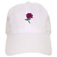 Red Rose Baseball Baseball Cap