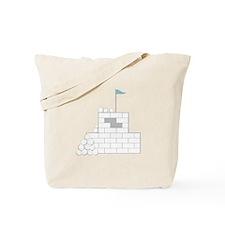 Snow Fort Tote Bag