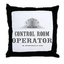 Control Room Op.  Throw Pillow