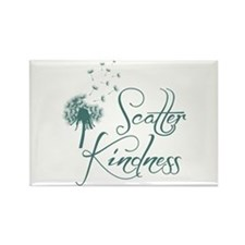 Scatter Kindness Rectangle Magnet Magnets