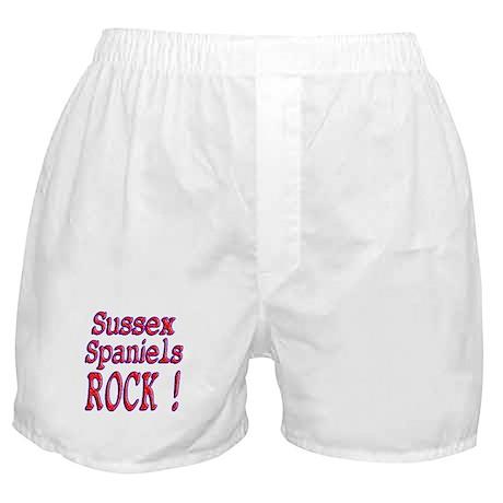 Sussex Spaniels Boxer Shorts