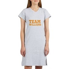 Team [your last name here] Women's Nightshirt