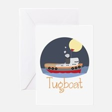 Tugboat Greeting Cards
