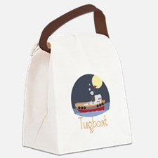 Tugboat Canvas Lunch Bag