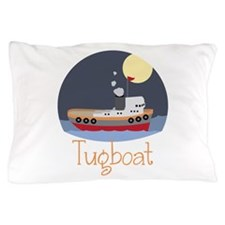 Tugboat Pillow Case