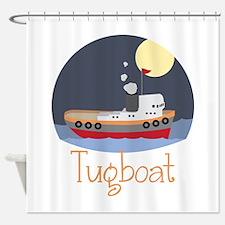 Tugboat Shower Curtain